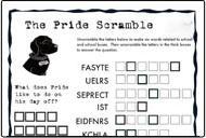 Pride Scramble